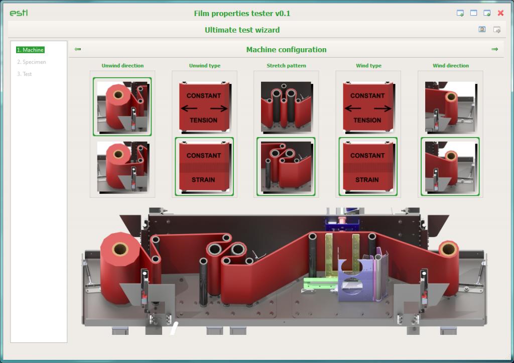 fpt-750 screenshot configuratie