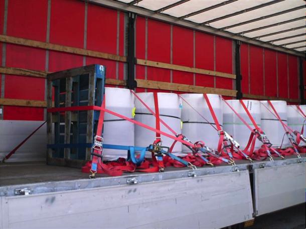 Testen en certificatie van spanbanden volgens EN12195-2.